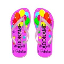 Celebrate 70 Flip Flops