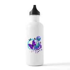 Bubble Butterflies CM BB Water Bottle