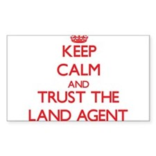 Keep Calm and Trust the Land Agent Decal