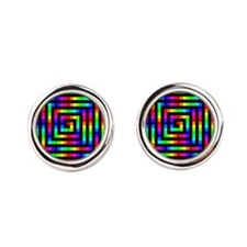 Colorful Art Cufflinks