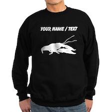 Custom Crawfish Silhouette Sweatshirt