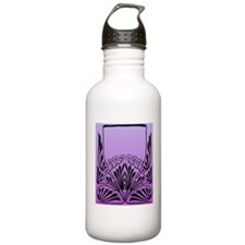 Purple Art Water Bottle