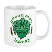Green Man Bakery Mug