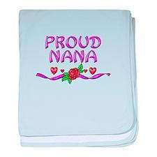 Proud Nana baby blanket