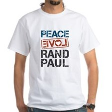 Peace Love Rand Paul Shirt