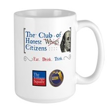 Club of Honest Whigs with logos Mugs