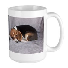 """Keep In Touch"" Beagle Mugs"