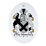 Fitz-Maurice Oval Ornament