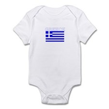 Greece Flag II Infant Bodysuit