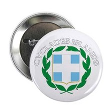 """Cyclades Islands, Greece 2.25"""" Button (100 pack)"""