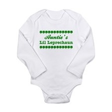 Auntie's Lil Leprechaun Body Suit