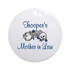Trooper's Mother in Law Ornament (Round)