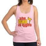 The Bird Is Right Racerback Tank Top