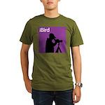 iBird (purple) Organic Men's T-Shirt (dark)