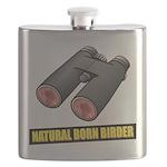 Natural Born Birder Flask