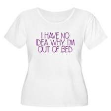 out of bed Plus Size T-Shirt