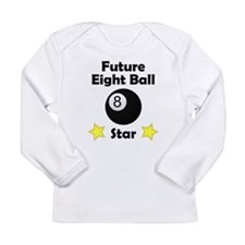 Future Eight Ball Star Long Sleeve T-Shirt