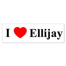 Ellijay Bumper Bumper Sticker