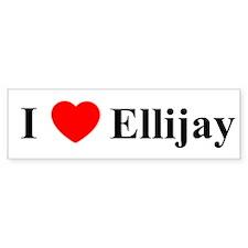 Ellijay Bumper Bumper Sticker