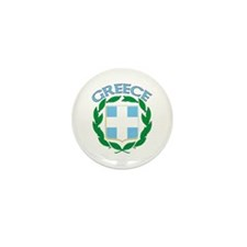 Greece Mini Button (10 pack)