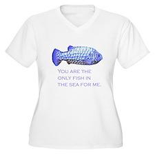fish in sea T-Shirt