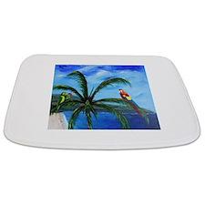 Tropical Parrots Bathmat