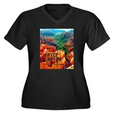 Hoodoos in Bryce Canyon National Park Plus Size T-