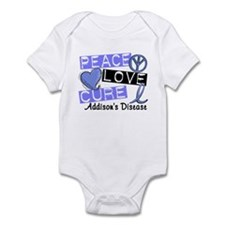 Peace Love Cure 1 Addison's Infant Bodysuit