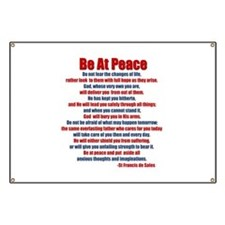 Be At Peace Banner