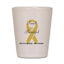 Microcephaly Awareness Shot Glass