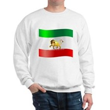 Parsa-Lion-Flag3 Sweatshirt