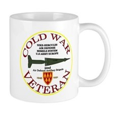 Cold War Nike Hercules Europe Mug