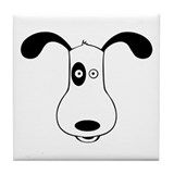 A Dog Named Spot Tile Coaster