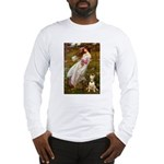Windflowers Bull Terrier Long Sleeve T-Shirt