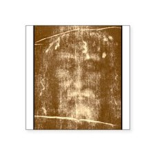Shroud of Turin Rectangle Sticker