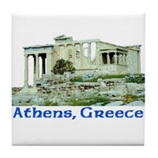 Athens, Greece (Acropolis) Tile Coaster