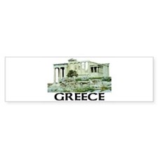 Greece (Acropolis) Bumper Bumper Sticker