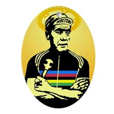 Saint Merckx Ornament (Oval)