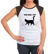 Custom Housecat Silhouette T-Shirt