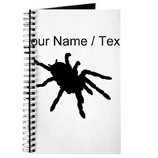Custom Tarantula Silhouette Journal
