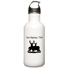 Custom Buck And Doe Water Bottle