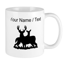 Custom Buck And Doe Mugs
