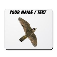 Custom Peregrine Falcon Mousepad