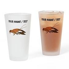 Custom Crawfish Drinking Glass