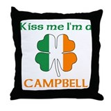 Campbell Family Throw Pillow