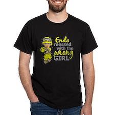Combat Girl Endometriosis T-Shirt