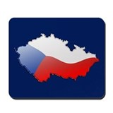 &quot;Czech Republic Bubble Map&quot; Mousepad
