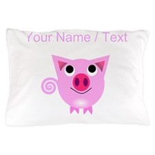 Custom Cartoon Pig Pillow Case