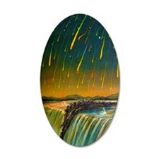 Meteor Storm Wall Decal