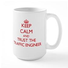 Keep Calm and Trust the Traffic Engineer Mugs